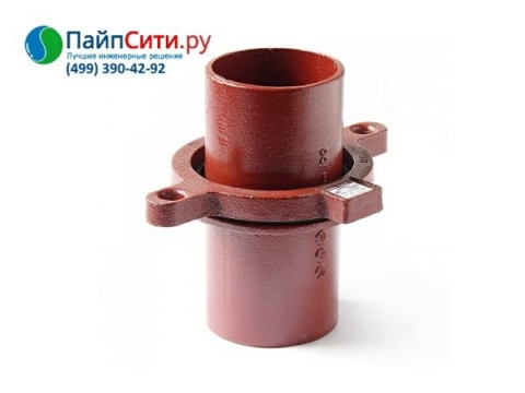 Кронштейн стояка с опорой чугунный канализационный безраструбный Dn 50 PAM-Global® SML