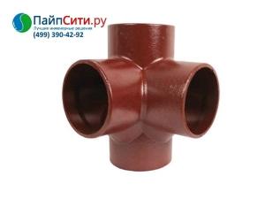 Крестовина 88˚ DN 100x80x80 двухплоскостная PAM-GLOBAL® SML