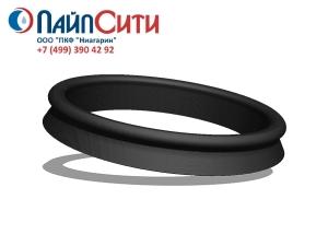 Резиновое уплотнительное кольцо (манжета) Ду 250 Тайтон