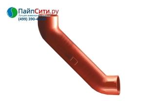Отвод 88˚ DN 125 с успокоительным участком PAM-GLOBAL® SML