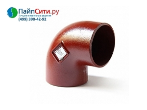 Отвод 88˚ DN 125 PAM-GLOBAL® SML