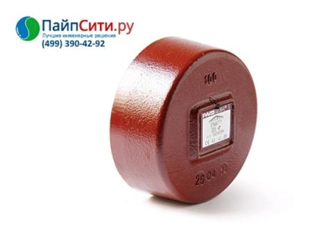 Торцевая крышка чугунная Dn 50 PAM-Global'S для канализационных систем SML