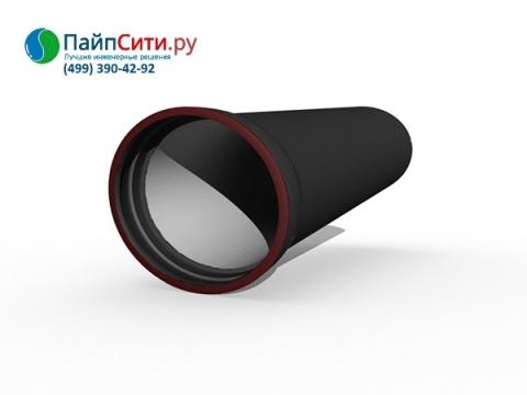 Труба ВЧШГ Ду 600 чугунная соединение Тайтон