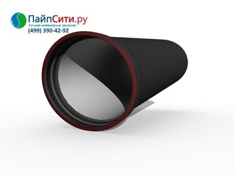 Труба ВЧШГ Ду 800 чугунная соединение Тайтон